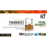 K7 Total Security 1 PC 1 Year (Activation card)